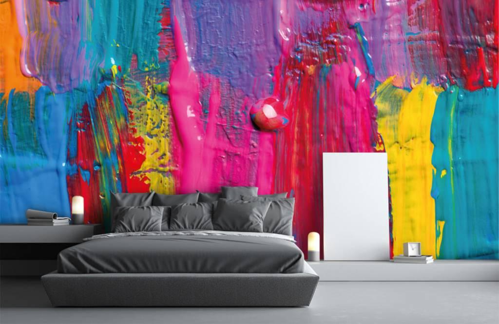 Moderne Tapete - Farbe - Tagungsraum 4