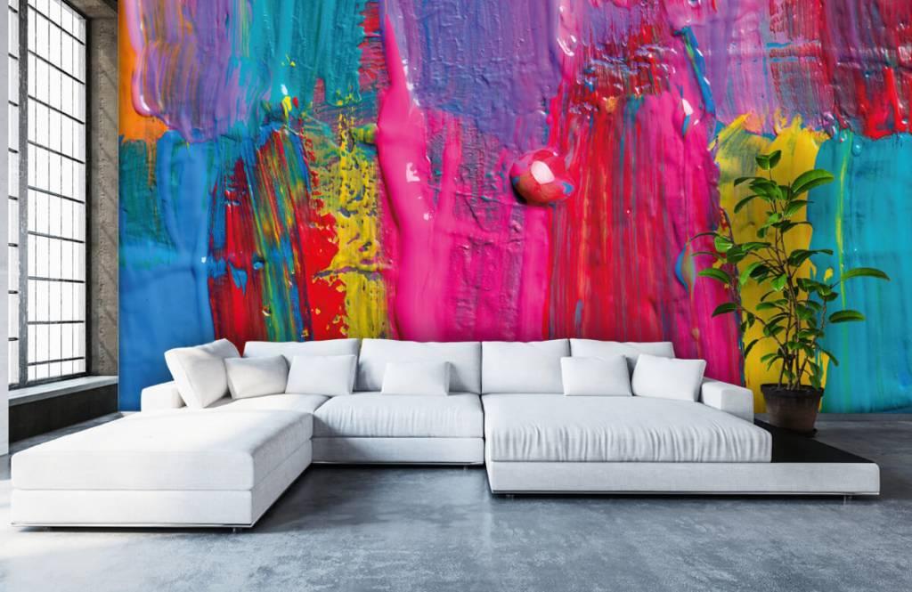 Moderne Tapete - Farbe - Tagungsraum 6