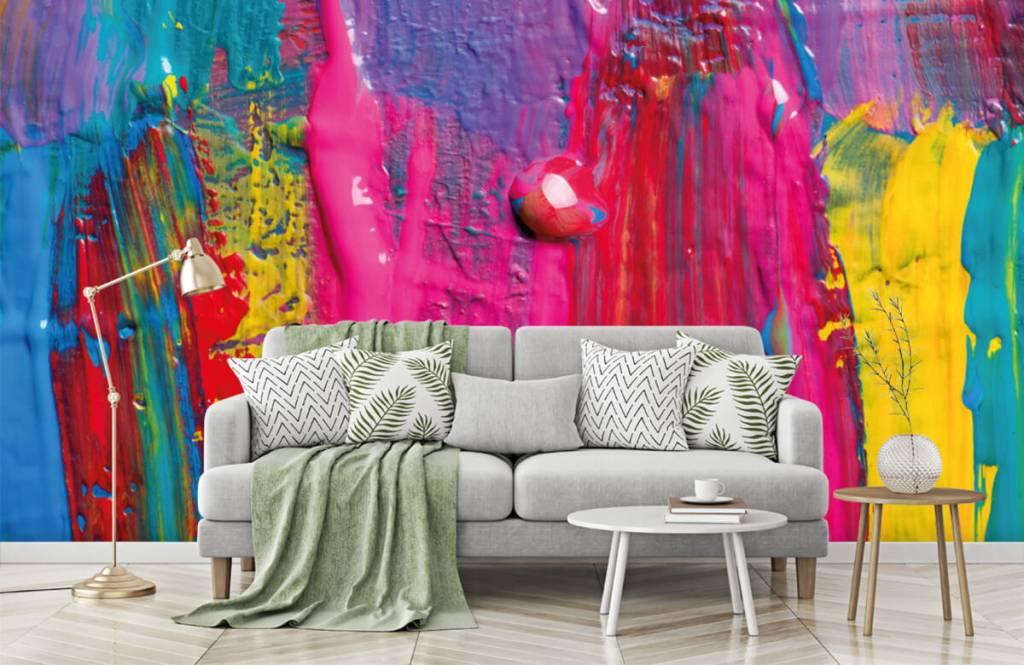Moderne Tapete - Farbe - Tagungsraum 8