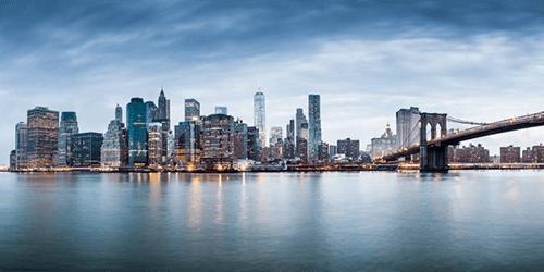 New York auf Tapete